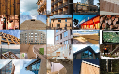 Nordic building projects and the concept of reusing wood
