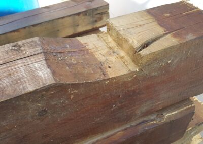 First results on properties of recovered wood